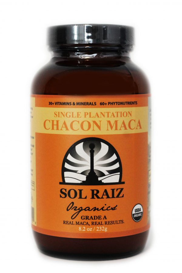 Sol Raiz 8.2 oz organic chacon maca powder