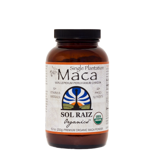 Soul Raiz - Amber Glass Jar - Maca Powder